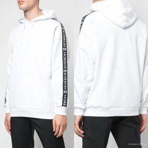 Givenchy Logo-Jacquard  Hooded Sweatshirt